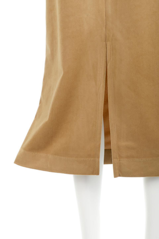 VelourSemiTightSkirtベロア生地・セミタイトスカート大人カジュアルに最適な海外ファッションのothers(その他インポートアイテム)のボトムやスカート。控えめな光沢が上品なベロアスカート。合わせやすい秋冬カラーのバリエーションで色違いで欲しくなります。/main-29