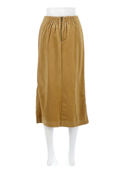 VelourSemiTightSkirtベロア生地・セミタイトスカート大人カジュアルに最適な海外ファッションのothers(その他インポートアイテム)のボトムやスカート。控えめな光沢が上品なベロアスカート。合わせやすい秋冬カラーのバリエーションで色違いで欲しくなります。/main-4