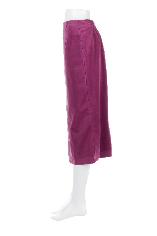 VelourSemiTightSkirtベロア生地・セミタイトスカート大人カジュアルに最適な海外ファッションのothers(その他インポートアイテム)のボトムやスカート。控えめな光沢が上品なベロアスカート。合わせやすい秋冬カラーのバリエーションで色違いで欲しくなります。/main-7