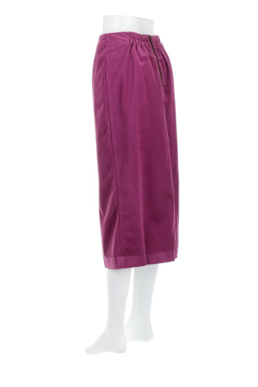 VelourSemiTightSkirtベロア生地・セミタイトスカート大人カジュアルに最適な海外ファッションのothers(その他インポートアイテム)のボトムやスカート。控えめな光沢が上品なベロアスカート。合わせやすい秋冬カラーのバリエーションで色違いで欲しくなります。/main-8