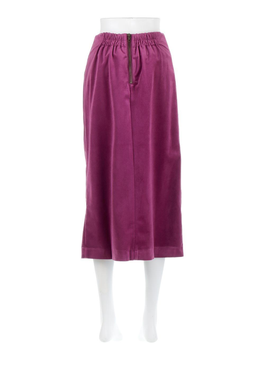 VelourSemiTightSkirtベロア生地・セミタイトスカート大人カジュアルに最適な海外ファッションのothers(その他インポートアイテム)のボトムやスカート。控えめな光沢が上品なベロアスカート。合わせやすい秋冬カラーのバリエーションで色違いで欲しくなります。/main-9