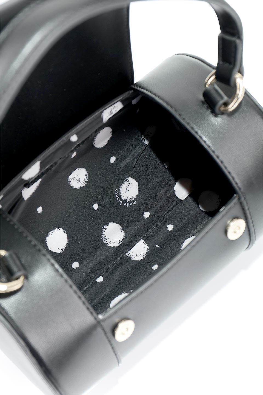 meliebiancoのBrooke(Black)ワンハンドル・筒型ミニバッグ/海外ファッション好きにオススメのインポートバッグとかばん、MelieBianco(メリービアンコ)のバッグやハンドバッグ。コロンと可愛い樽型のミニハンドバッグ。芯入りのビーガンレザーなので綺麗な筒状の形は型崩れの心配なし。/main-11