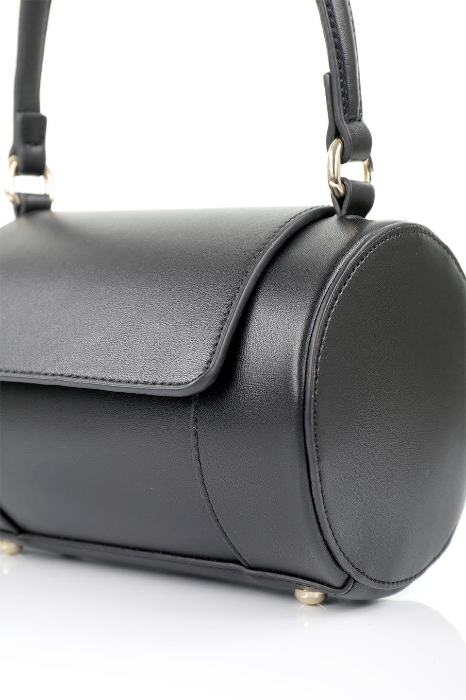 meliebiancoのBrooke(Black)ワンハンドル・筒型ミニバッグ/海外ファッション好きにオススメのインポートバッグとかばん、MelieBianco(メリービアンコ)のバッグやハンドバッグ。コロンと可愛い樽型のミニハンドバッグ。芯入りのビーガンレザーなので綺麗な筒状の形は型崩れの心配なし。/main-14