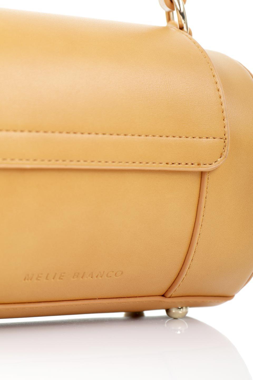 meliebiancoのBrooke(Masterd)ワンハンドル・筒型ミニバッグ/海外ファッション好きにオススメのインポートバッグとかばん、MelieBianco(メリービアンコ)のバッグやハンドバッグ。コロンと可愛い樽型のミニハンドバッグ。芯入りのビーガンレザーなので綺麗な筒状の形は型崩れの心配なし。/main-7