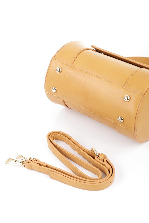 meliebiancoのBrooke(Masterd)ワンハンドル・筒型ミニバッグ/海外ファッション好きにオススメのインポートバッグとかばん、MelieBianco(メリービアンコ)のバッグやハンドバッグ。コロンと可愛い樽型のミニハンドバッグ。芯入りのビーガンレザーなので綺麗な筒状の形は型崩れの心配なし。/main-9