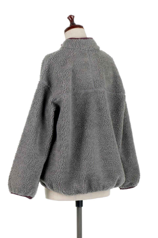 PipingDetailBoaFleeceP.O.パイピング入り・ボアフリース大人カジュアルに最適な海外ファッションのothers(その他インポートアイテム)のトップスやカットソー。今季大人気のたっぷりサイズのボアフリース。難しいことを考えずにさっと羽織ってパッと可愛くなるお気楽アイテムです。/main-13