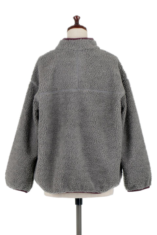 PipingDetailBoaFleeceP.O.パイピング入り・ボアフリース大人カジュアルに最適な海外ファッションのothers(その他インポートアイテム)のトップスやカットソー。今季大人気のたっぷりサイズのボアフリース。難しいことを考えずにさっと羽織ってパッと可愛くなるお気楽アイテムです。/main-14