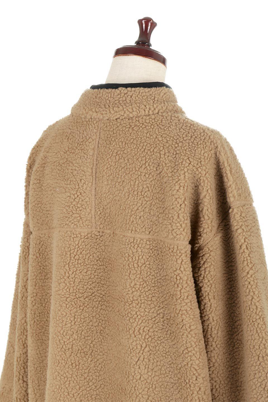 PipingDetailBoaFleeceP.O.パイピング入り・ボアフリース大人カジュアルに最適な海外ファッションのothers(その他インポートアイテム)のトップスやカットソー。今季大人気のたっぷりサイズのボアフリース。難しいことを考えずにさっと羽織ってパッと可愛くなるお気楽アイテムです。/main-17
