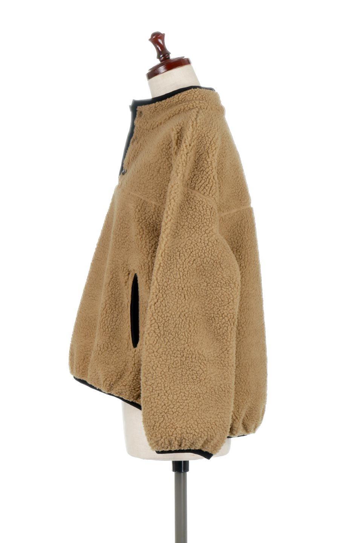 PipingDetailBoaFleeceP.O.パイピング入り・ボアフリース大人カジュアルに最適な海外ファッションのothers(その他インポートアイテム)のトップスやカットソー。今季大人気のたっぷりサイズのボアフリース。難しいことを考えずにさっと羽織ってパッと可愛くなるお気楽アイテムです。/main-7