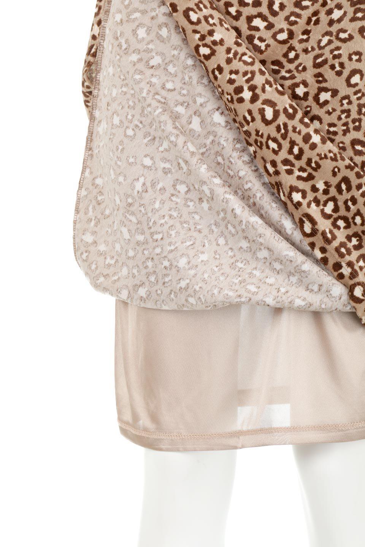 LeopardVelourSemiTightSkirtレオパード柄・ベロアタイトスカート大人カジュアルに最適な海外ファッションのothers(その他インポートアイテム)のボトムやスカート。人気のレオパード柄をベロア生地にプリントしたセミタイトスカート。ブラウン系の色展開でコーディネートのしやすさも抜群なスカートです。/main-19