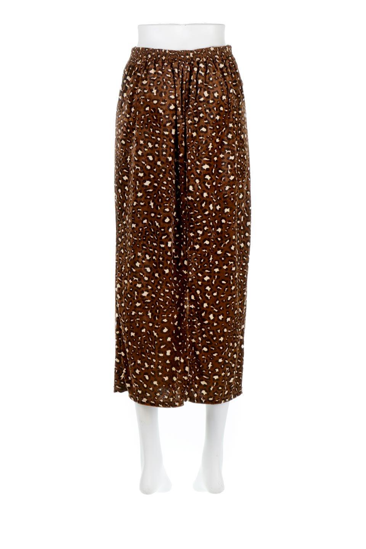 LeopardVelourSemiTightSkirtレオパード柄・ベロアタイトスカート大人カジュアルに最適な海外ファッションのothers(その他インポートアイテム)のボトムやスカート。人気のレオパード柄をベロア生地にプリントしたセミタイトスカート。ブラウン系の色展開でコーディネートのしやすさも抜群なスカートです。/main-4