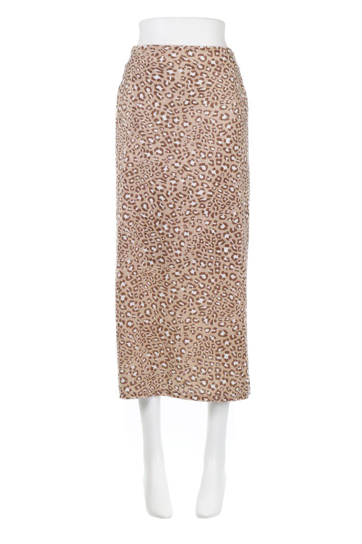 LeopardVelourSemiTightSkirtレオパード柄・ベロアタイトスカート大人カジュアルに最適な海外ファッションのothers(その他インポートアイテム)のボトムやスカート。人気のレオパード柄をベロア生地にプリントしたセミタイトスカート。ブラウン系の色展開でコーディネートのしやすさも抜群なスカートです。/main-5