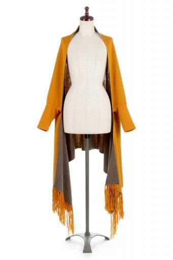 Reversible Wide Shawl Cardigan リバーシブル・ストールカーディガン / 大人カジュアルに最適な海外ファッションが得意な福島市のセレクトショップbloom