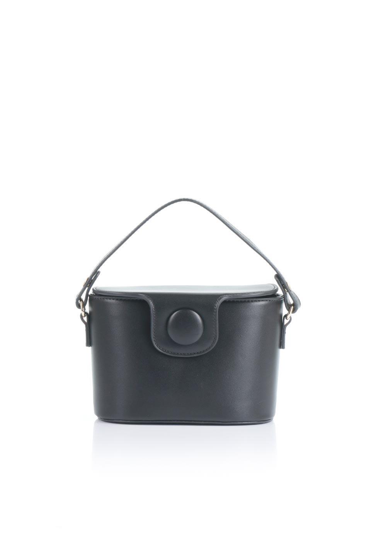 meliebiancoのAdelynn(Black)ワンハンドル・ミニハンドバッグ/海外ファッション好きにオススメのインポートバッグとかばん、MelieBianco(メリービアンコ)のバッグやハンドバッグ。パカッと開くフラップが可愛い2Wayタイプのミニバッグ。どことなくレトロな雰囲気も感じるデザインでコーデの邪魔にならないバッグです。