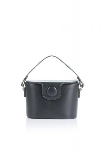 海外ファッションや大人カジュアルのためのインポートバッグ、かばんmelie bianco(メリービアンコ)のAdelynn (Black) ワンハンドル・ミニハンドバッグ