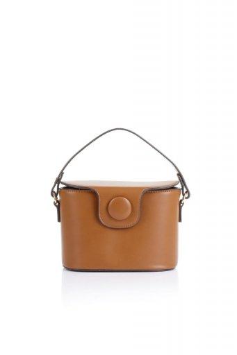 海外ファッションや大人カジュアルのためのインポートバッグ、かばんmelie bianco(メリービアンコ)のAdelynn (Saddle) ワンハンドル・ミニハンドバッグ