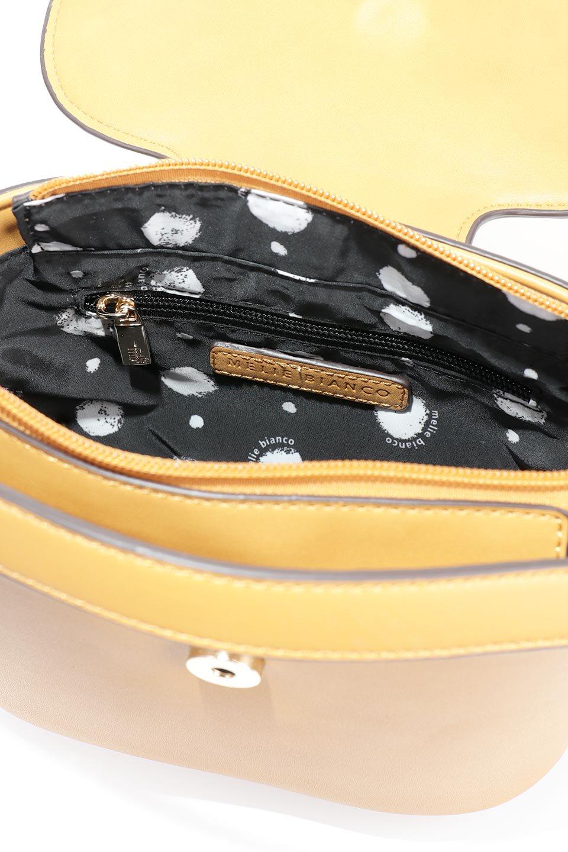 meliebiancoのAdelynn(Mustard)ワンハンドル・ミニハンドバッグ/海外ファッション好きにオススメのインポートバッグとかばん、MelieBianco(メリービアンコ)のバッグやハンドバッグ。パカッと開くフラップが可愛い2Wayタイプのミニバッグ。どことなくレトロな雰囲気も感じるデザインでコーデの邪魔にならないバッグです。/main-13
