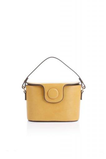 海外ファッションや大人カジュアルのためのインポートバッグ、かばんmelie bianco(メリービアンコ)のAdelynn (Mustard) ワンハンドル・ミニハンドバッグ