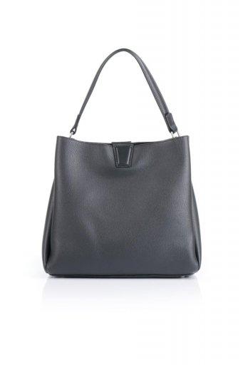 海外ファッションや大人カジュアルのためのインポートバッグ、かばんmelie bianco(メリービアンコ)のMaya (Black) ワンハンドル・ハンドバッグ