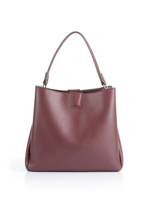 meliebiancoのMaya(Merlot)ワンハンドル・ハンドバッグ/海外ファッション好きにオススメのインポートバッグとかばん、MelieBianco(メリービアンコ)のバッグやハンドバッグ。シンプルな見た目に便利な収納のワンハンドル・ハンドバッグ。オフィスカジュアルのバッグとしてもおすすめなアイテムです。