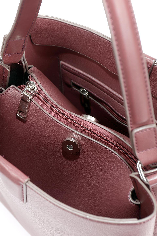 meliebiancoのMaya(Merlot)ワンハンドル・ハンドバッグ/海外ファッション好きにオススメのインポートバッグとかばん、MelieBianco(メリービアンコ)のバッグやハンドバッグ。シンプルな見た目に便利な収納のワンハンドル・ハンドバッグ。オフィスカジュアルのバッグとしてもおすすめなアイテムです。/main-11