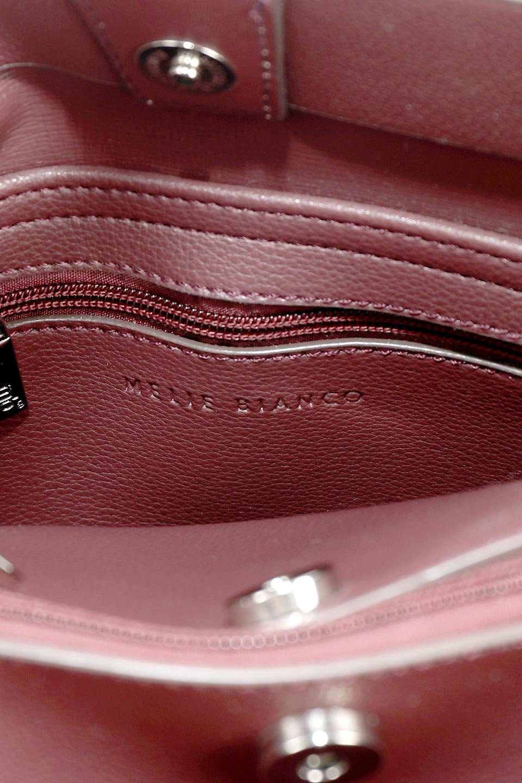meliebiancoのMaya(Merlot)ワンハンドル・ハンドバッグ/海外ファッション好きにオススメのインポートバッグとかばん、MelieBianco(メリービアンコ)のバッグやハンドバッグ。シンプルな見た目に便利な収納のワンハンドル・ハンドバッグ。オフィスカジュアルのバッグとしてもおすすめなアイテムです。/main-12
