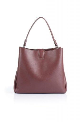 海外ファッションや大人カジュアルのためのインポートバッグ、かばんmelie bianco(メリービアンコ)のMaya (Merlot) ワンハンドル・ハンドバッグ