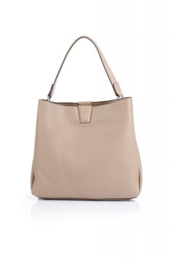 海外ファッションや大人カジュアルのためのインポートバッグ、かばんmelie bianco(メリービアンコ)のMaya (Taupe) ワンハンドル・ハンドバッグ