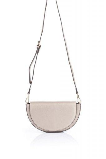 海外ファッションや大人カジュアルのためのインポートバッグ、かばんmelie bianco(メリービアンコ)のShelby (Gold) 半月型・ミニショルダーバッグ