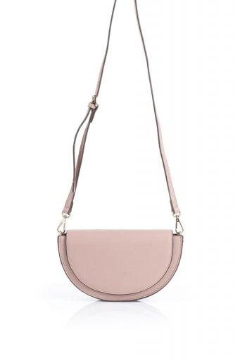 海外ファッションや大人カジュアルのためのインポートバッグ、かばんmelie bianco(メリービアンコ)のShelby (Blush) 半月型・ミニショルダーバッグ