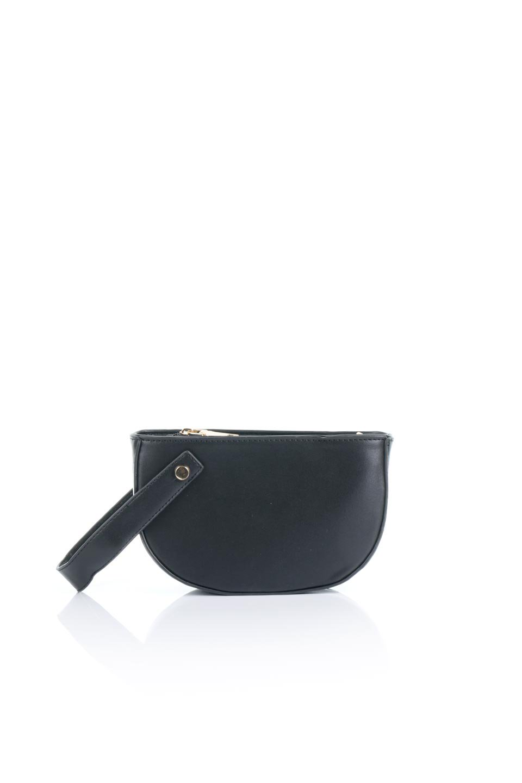 meliebiancoのRenee(Black)2Way・ショルダーバッグ/海外ファッション好きにオススメのインポートバッグとかばん、MelieBianco(メリービアンコ)のバッグやクラッチバッグ。デザインのアクセントにもなっているハンドストラップ付のミニクラッチバッグ。電子決済はフル活用、スマホとミニ財布で事足りる方に人気の小型のバッグです。