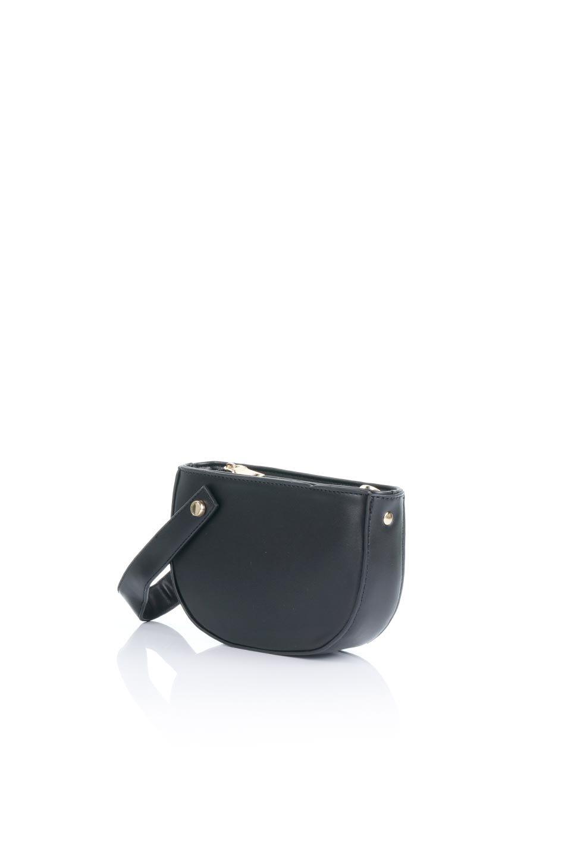 meliebiancoのRenee(Black)2Way・ショルダーバッグ/海外ファッション好きにオススメのインポートバッグとかばん、MelieBianco(メリービアンコ)のバッグやクラッチバッグ。デザインのアクセントにもなっているハンドストラップ付のミニクラッチバッグ。電子決済はフル活用、スマホとミニ財布で事足りる方に人気の小型のバッグです。/main-1