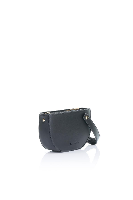 meliebiancoのRenee(Black)2Way・ショルダーバッグ/海外ファッション好きにオススメのインポートバッグとかばん、MelieBianco(メリービアンコ)のバッグやクラッチバッグ。デザインのアクセントにもなっているハンドストラップ付のミニクラッチバッグ。電子決済はフル活用、スマホとミニ財布で事足りる方に人気の小型のバッグです。/main-3