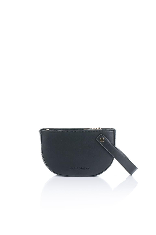 meliebiancoのRenee(Black)2Way・ショルダーバッグ/海外ファッション好きにオススメのインポートバッグとかばん、MelieBianco(メリービアンコ)のバッグやクラッチバッグ。デザインのアクセントにもなっているハンドストラップ付のミニクラッチバッグ。電子決済はフル活用、スマホとミニ財布で事足りる方に人気の小型のバッグです。/main-4