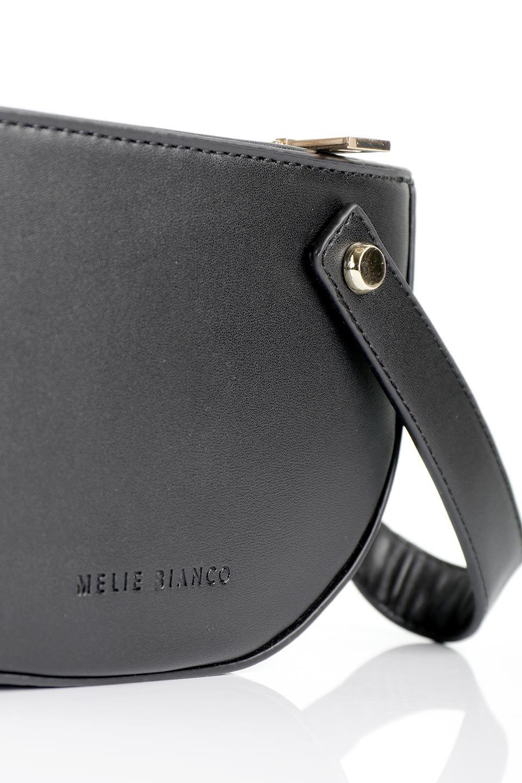 meliebiancoのRenee(Black)2Way・ショルダーバッグ/海外ファッション好きにオススメのインポートバッグとかばん、MelieBianco(メリービアンコ)のバッグやクラッチバッグ。デザインのアクセントにもなっているハンドストラップ付のミニクラッチバッグ。電子決済はフル活用、スマホとミニ財布で事足りる方に人気の小型のバッグです。/main-6