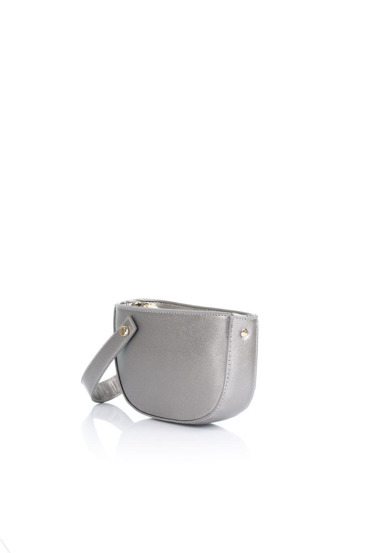 meliebiancoのRenee(Pewter)2Way・ショルダーバッグ/海外ファッション好きにオススメのインポートバッグとかばん、MelieBianco(メリービアンコ)のバッグやクラッチバッグ。デザインのアクセントにもなっているハンドストラップ付のミニクラッチバッグ。電子決済はフル活用、スマホとミニ財布で事足りる方に人気の小型のバッグです。/main-1
