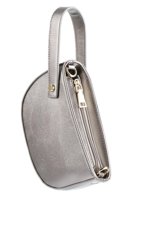 meliebiancoのRenee(Pewter)2Way・ショルダーバッグ/海外ファッション好きにオススメのインポートバッグとかばん、MelieBianco(メリービアンコ)のバッグやクラッチバッグ。デザインのアクセントにもなっているハンドストラップ付のミニクラッチバッグ。電子決済はフル活用、スマホとミニ財布で事足りる方に人気の小型のバッグです。/main-12
