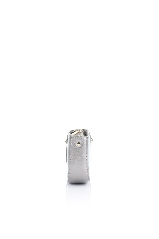meliebiancoのRenee(Pewter)2Way・ショルダーバッグ/海外ファッション好きにオススメのインポートバッグとかばん、MelieBianco(メリービアンコ)のバッグやクラッチバッグ。デザインのアクセントにもなっているハンドストラップ付のミニクラッチバッグ。電子決済はフル活用、スマホとミニ財布で事足りる方に人気の小型のバッグです。/main-2