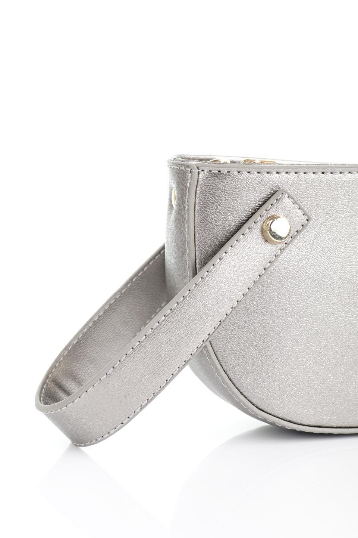 meliebiancoのRenee(Pewter)2Way・ショルダーバッグ/海外ファッション好きにオススメのインポートバッグとかばん、MelieBianco(メリービアンコ)のバッグやクラッチバッグ。デザインのアクセントにもなっているハンドストラップ付のミニクラッチバッグ。電子決済はフル活用、スマホとミニ財布で事足りる方に人気の小型のバッグです。/main-5