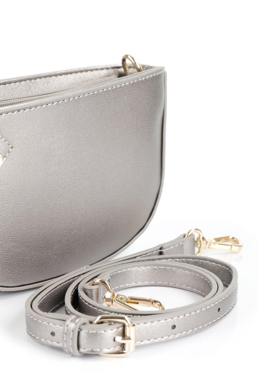 meliebiancoのRenee(Pewter)2Way・ショルダーバッグ/海外ファッション好きにオススメのインポートバッグとかばん、MelieBianco(メリービアンコ)のバッグやクラッチバッグ。デザインのアクセントにもなっているハンドストラップ付のミニクラッチバッグ。電子決済はフル活用、スマホとミニ財布で事足りる方に人気の小型のバッグです。/main-8