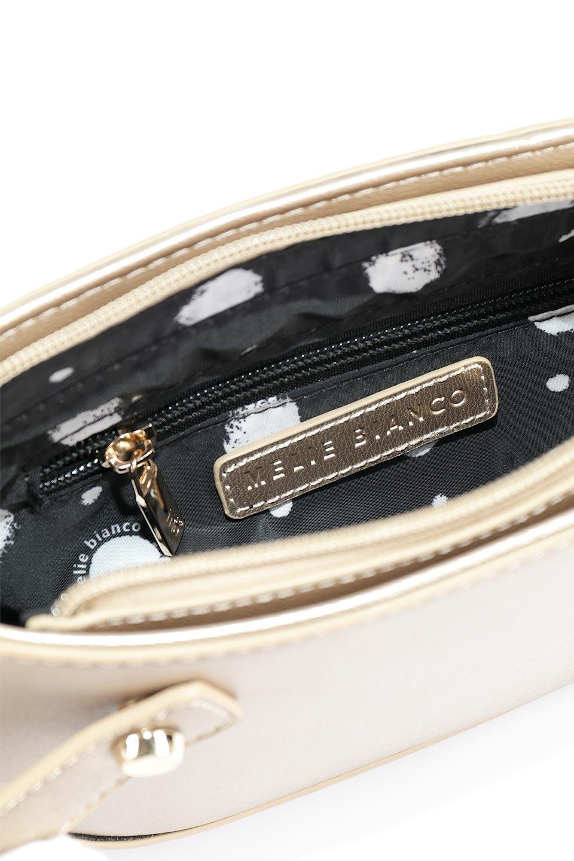 meliebiancoのRenee(Gold)2Way・ショルダーバッグ/海外ファッション好きにオススメのインポートバッグとかばん、MelieBianco(メリービアンコ)のバッグやクラッチバッグ。デザインのアクセントにもなっているハンドストラップ付のミニクラッチバッグ。電子決済はフル活用、スマホとミニ財布で事足りる方に人気の小型のバッグです。/main-12