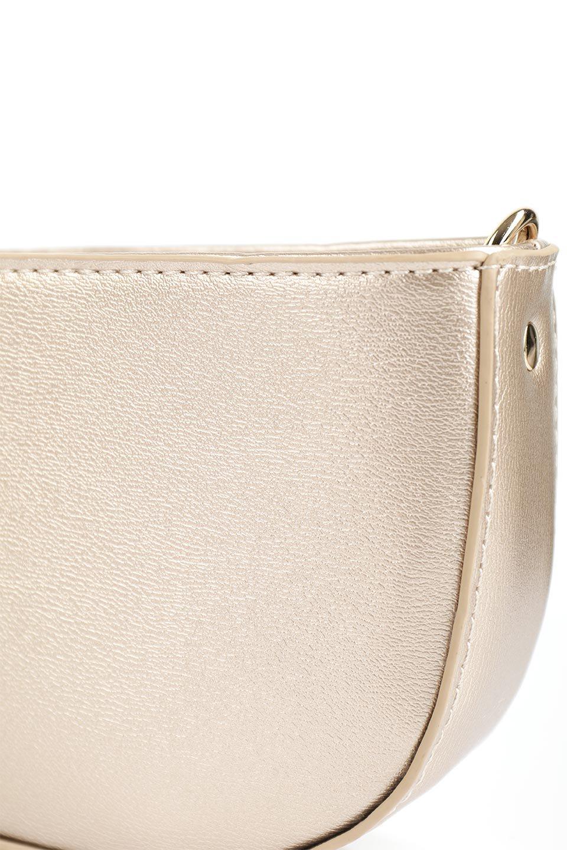 meliebiancoのRenee(Gold)2Way・ショルダーバッグ/海外ファッション好きにオススメのインポートバッグとかばん、MelieBianco(メリービアンコ)のバッグやクラッチバッグ。デザインのアクセントにもなっているハンドストラップ付のミニクラッチバッグ。電子決済はフル活用、スマホとミニ財布で事足りる方に人気の小型のバッグです。/main-8