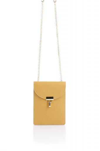 海外ファッションや大人カジュアルのためのインポートバッグ、かばんmelie bianco(メリービアンコ)のNina (Mustard) スリムポケット・ショルダーバッグ