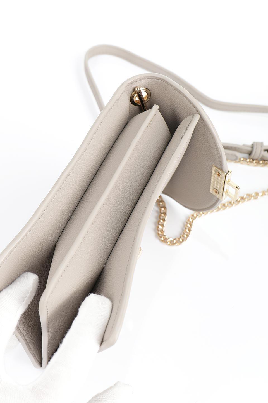meliebiancoのNina(Taupe)スリムポケット・ショルダーバッグ/海外ファッション好きにオススメのインポートバッグとかばん、MelieBianco(メリービアンコ)のバッグやハンドバッグ。スリムなシルエットのミニショルダーバッグ。アコーディオンタイプのポケットなので、スリムでありながら見た目以上の収納力があるポーチです。/main-14