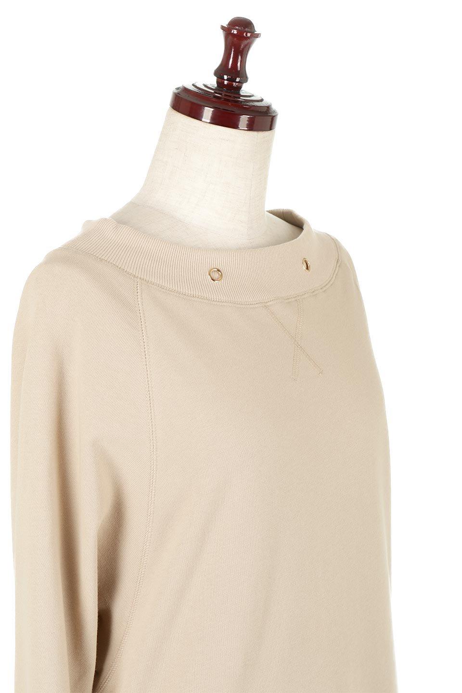 BackPleatedLongDressバックプリーツ・長袖マキシワンピース大人カジュアルに最適な海外ファッションのothers(その他インポートアイテム)のワンピースやマキシワンピース。プリーツの切り替えがとても可愛い長袖のマキシワンピース。ドルマンスリーブのゆったり感と細身のシルエットでスラっと見える大人気ワンピ。/main-10