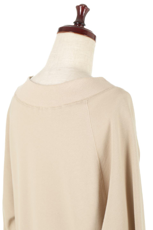 BackPleatedLongDressバックプリーツ・長袖マキシワンピース大人カジュアルに最適な海外ファッションのothers(その他インポートアイテム)のワンピースやマキシワンピース。プリーツの切り替えがとても可愛い長袖のマキシワンピース。ドルマンスリーブのゆったり感と細身のシルエットでスラっと見える大人気ワンピ。/main-11