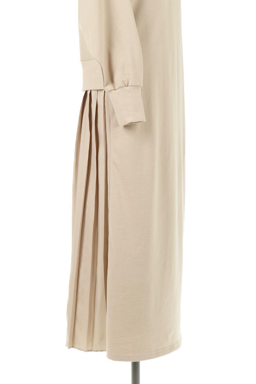 BackPleatedLongDressバックプリーツ・長袖マキシワンピース大人カジュアルに最適な海外ファッションのothers(その他インポートアイテム)のワンピースやマキシワンピース。プリーツの切り替えがとても可愛い長袖のマキシワンピース。ドルマンスリーブのゆったり感と細身のシルエットでスラっと見える大人気ワンピ。/main-19