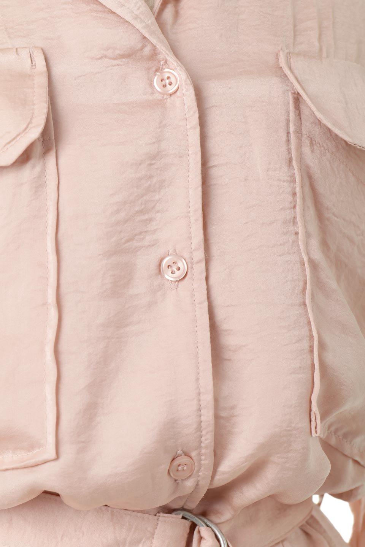 SatinLongShirtsDressビンテージサテン・ロングシャツワンピース大人カジュアルに最適な海外ファッションのothers(その他インポートアイテム)のワンピースやマキシワンピース。大き目の胸ポケットが可愛いサテン生地のロングシャツワンピース。テロテロのサテン生地が春っぽい印象で、フルオープンにしたりウエストのベルトなどで様々な着回しが楽しめます。/main-16