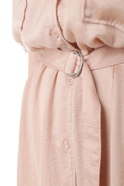 SatinLongShirtsDressビンテージサテン・ロングシャツワンピース大人カジュアルに最適な海外ファッションのothers(その他インポートアイテム)のワンピースやマキシワンピース。大き目の胸ポケットが可愛いサテン生地のロングシャツワンピース。テロテロのサテン生地が春っぽい印象で、フルオープンにしたりウエストのベルトなどで様々な着回しが楽しめます。/main-17