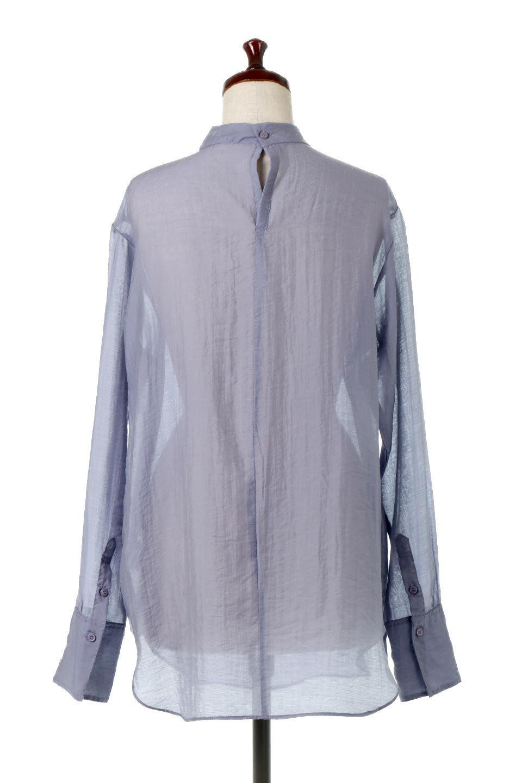 SheerPoplinBosomBlouseシアーポプリン・ブザムブラウス大人カジュアルに最適な海外ファッションのothers(その他インポートアイテム)のトップスやシャツ・ブラウス。胸元の切り替えが特徴的な長袖のブザムブラウス。透け感が人気のポプリン素材を使用したのブラウスです。/main-19